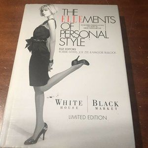 WHBM ELLEments of Personal Style Book Limited Ed.